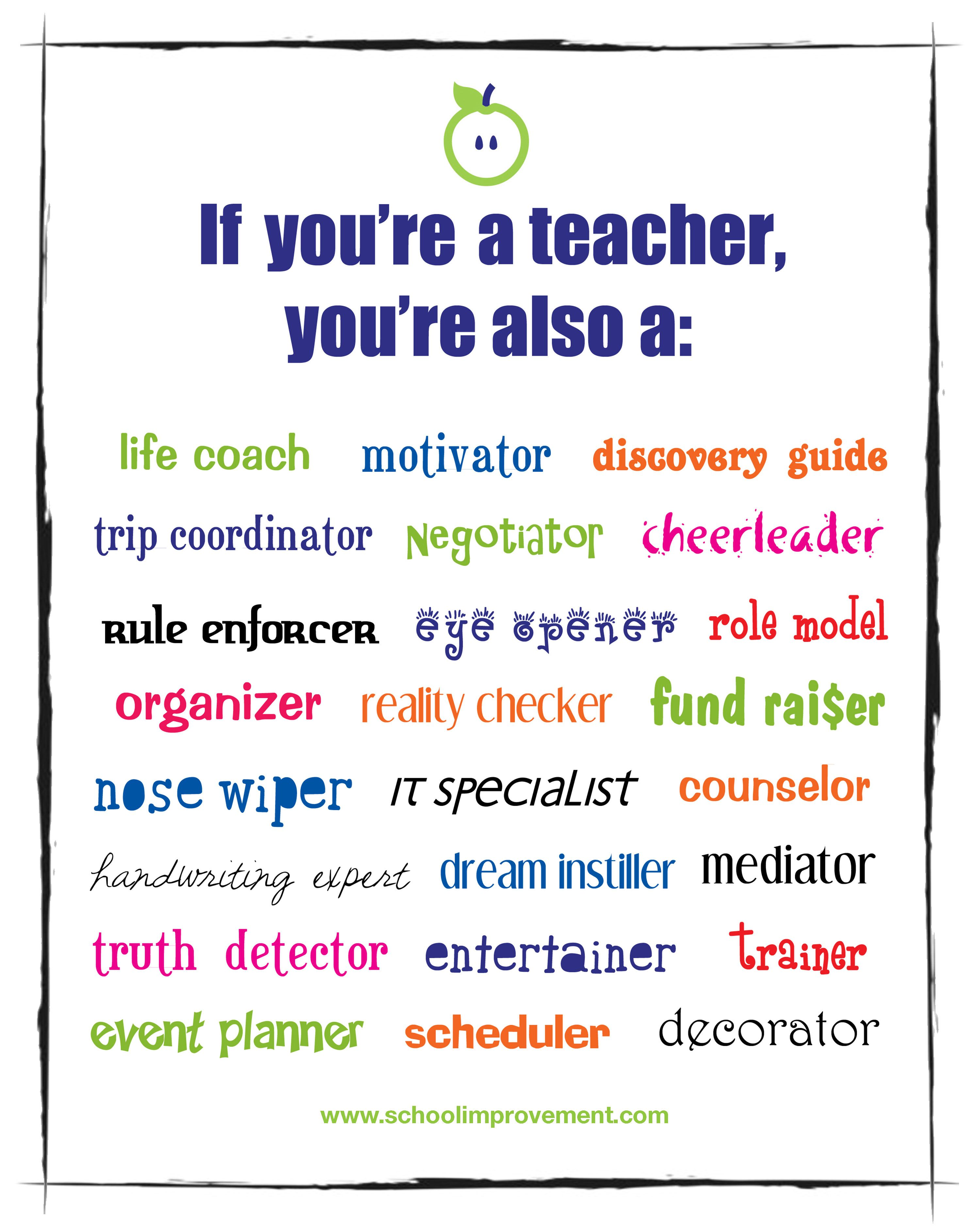 Happy Teacher Appreciation Week We Know That As Teachers