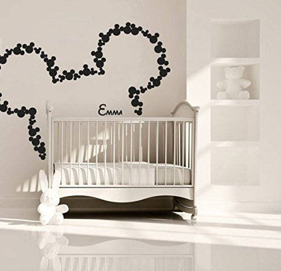 large mickey mouse wall decal sticker,disney wall decal, kids wall