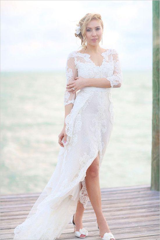 Sweet Intimate Island Wedding   Pinterest   Wedding, Gowns and ...