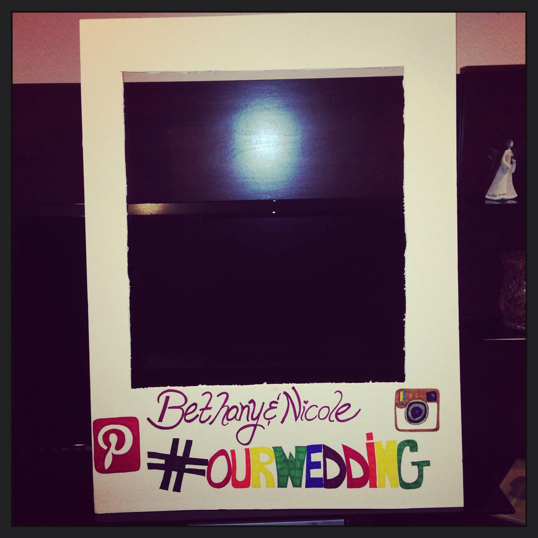 Photo Booth DIY Polaroid frame! | Party ideas | Pinterest | Yanyan ...