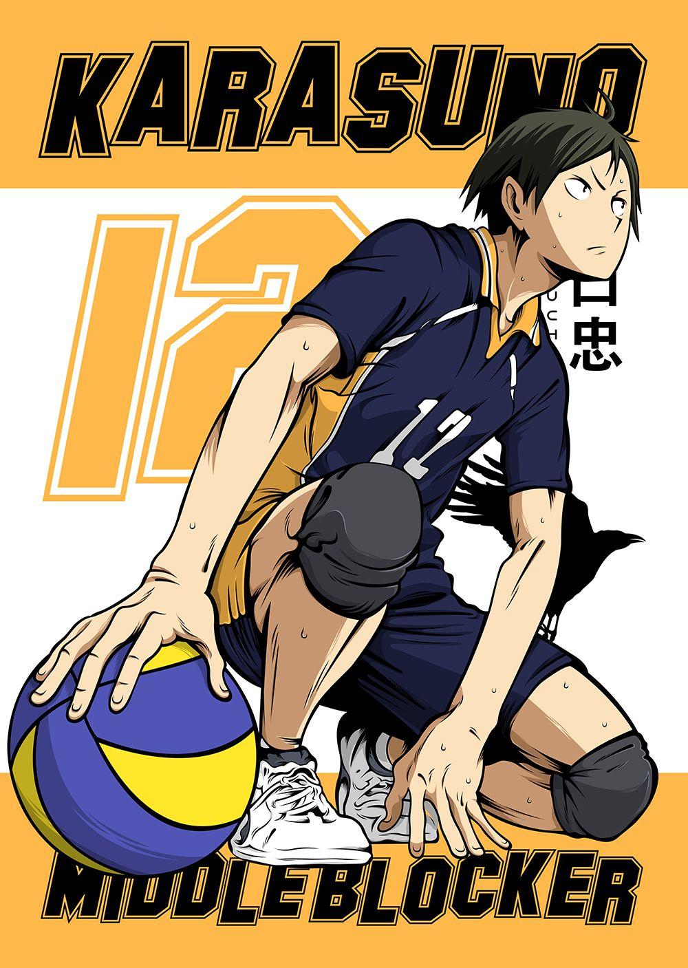 Anime Haikyuu Yamaguchi Metal Poster Print Team Awesome Displate In 2020 Yamaguchi Haikyuu Haikyuu Anime