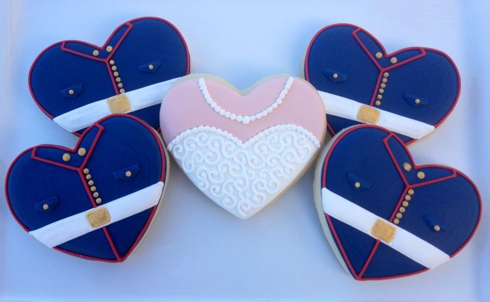 cookies para matrimonio o quinciañera