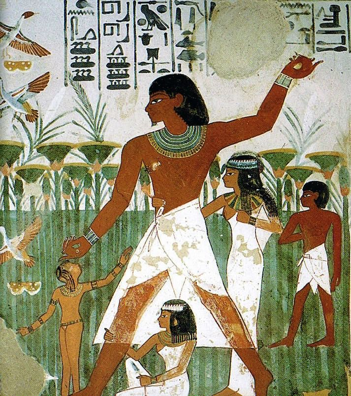 Tomb Of Nakht 18th Dynasty Egypten
