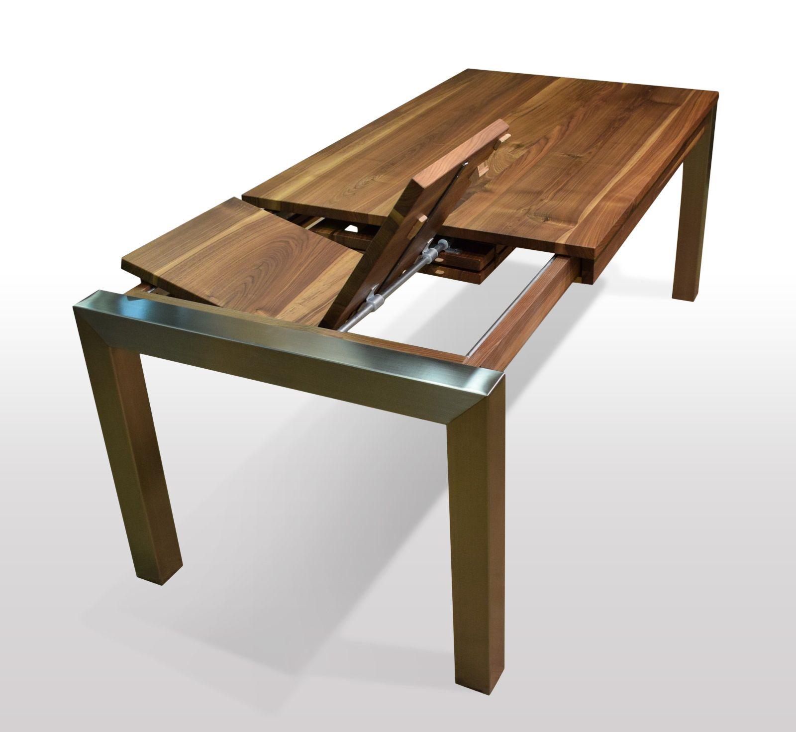 Tisch Nussbaum Massiv Breite 80cm Lange Wahlbar Esstisch