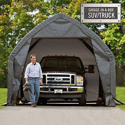 Garage In A Box 13X12X20 SUV Truck Portable Garage Carport ...