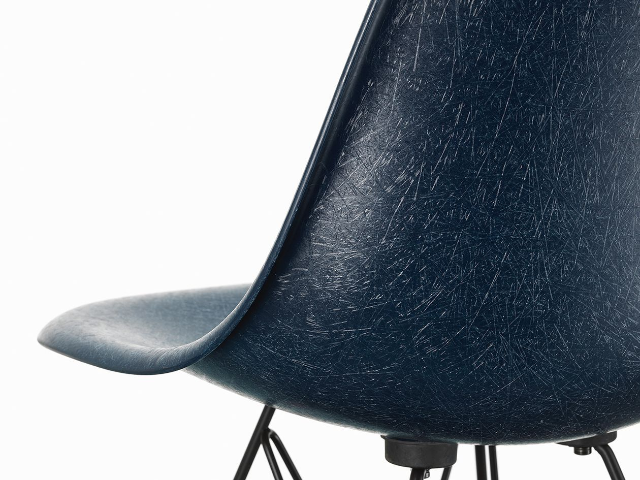Eames Fiberglass Chair Launched 70 Years Ago Design Stories Eames Fiberglass Chair Fiberglass Chair Eames