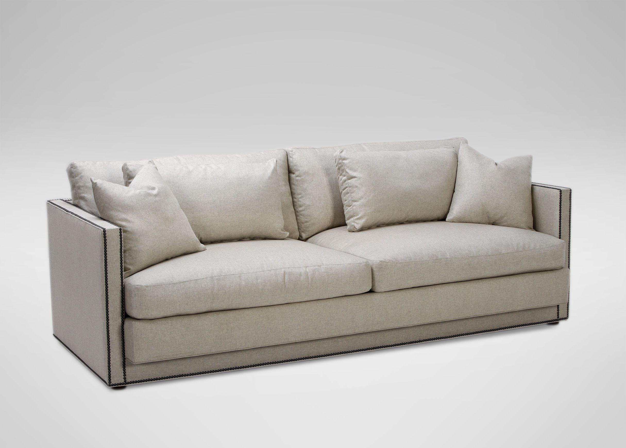 Abington Sofa Reede Linen Ethan Allen Us Sofas Sofa