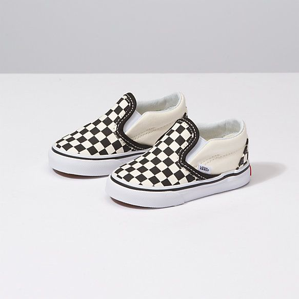 e4a9ab053a Size 6 Toddlers Checkerboard Slip On