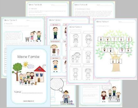 meine familie lebenslanges lernen familie ist stammbaum f r kinder und sachunterricht. Black Bedroom Furniture Sets. Home Design Ideas