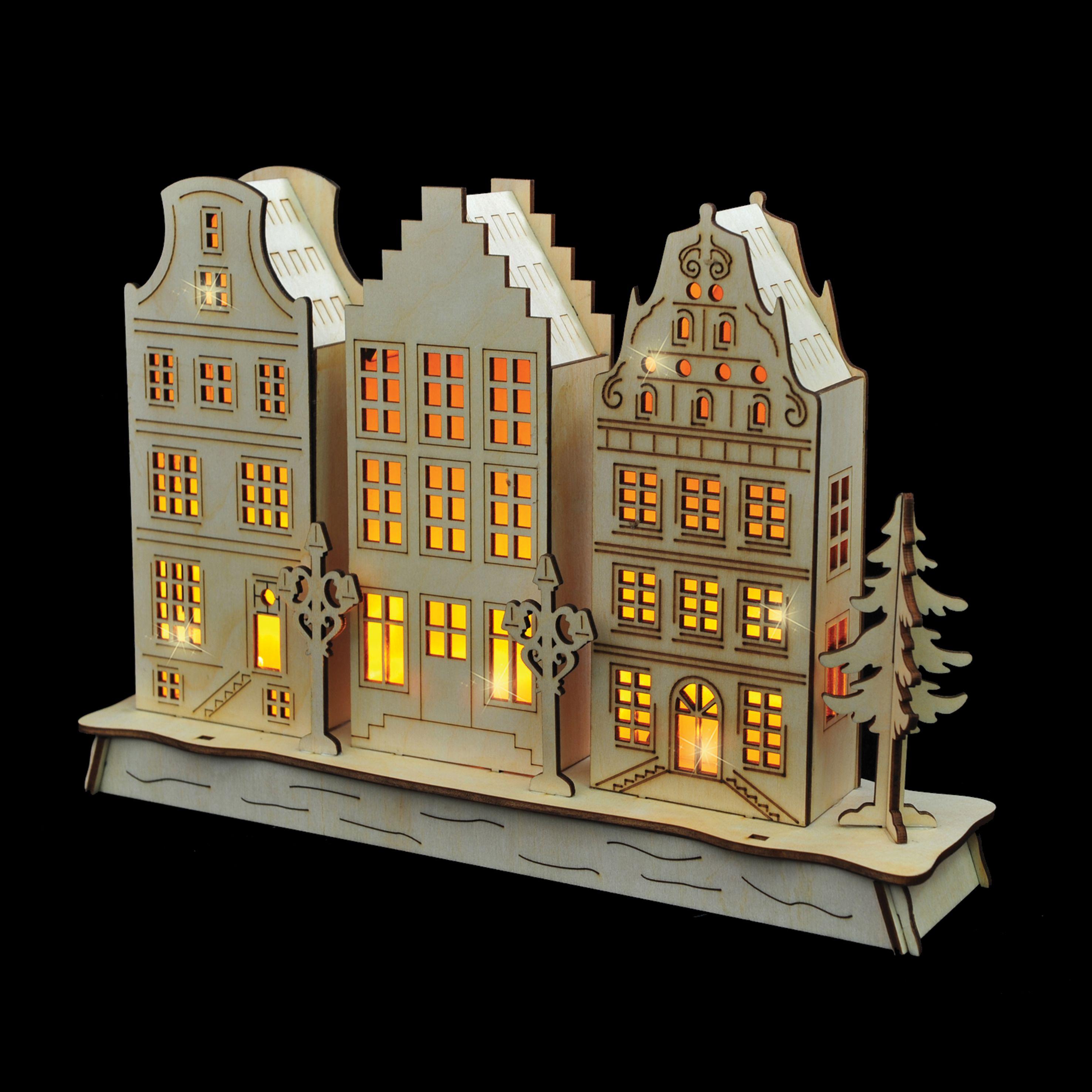 Deze Amsterdamse grachtenpandjes hebben leuke verlichting en kunnen ...