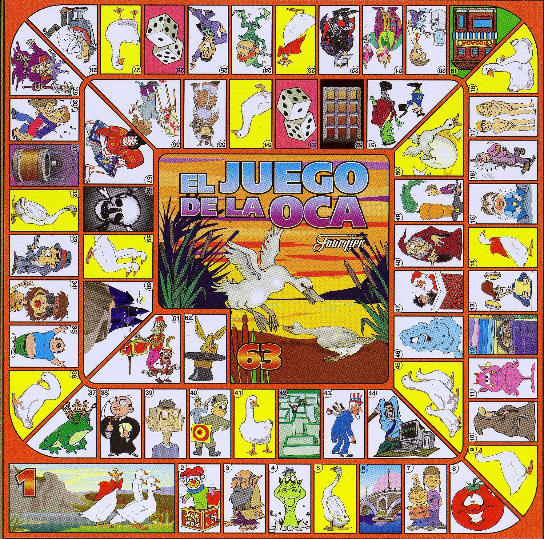 Juego De La Oca Clásico Juegos De Tablero Juegos Juegos De Mesa