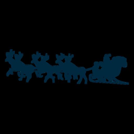 Santa Claus Deer Sledge Sleigh Silhouette Ad Ad Ad Deer Silhouette Sleigh Claus Santa Sleigh Silhouette Elk Silhouette Sleigh