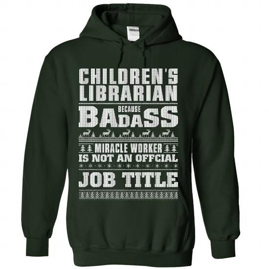 Childrens Librarian - #cute hoodie #oversized hoodie. CHECK PRICE => https://www.sunfrog.com/Christmas/Children-Forest-71378307-Hoodie.html?68278
