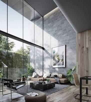 Modern house interior design designing industrial architecture also best images in future rh pinterest