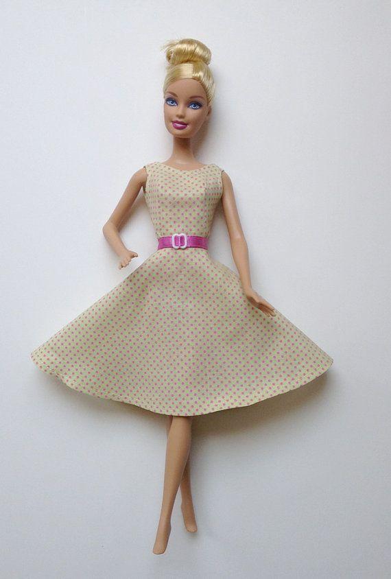 65e19cb68005 SPECIAL Handmade Barbie Doll Clothes Basics LIV Hot Pink by All4U ...