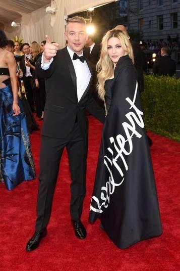 O DJ e a cantora fizeram uma parceria na música Bitch I'm Madonna