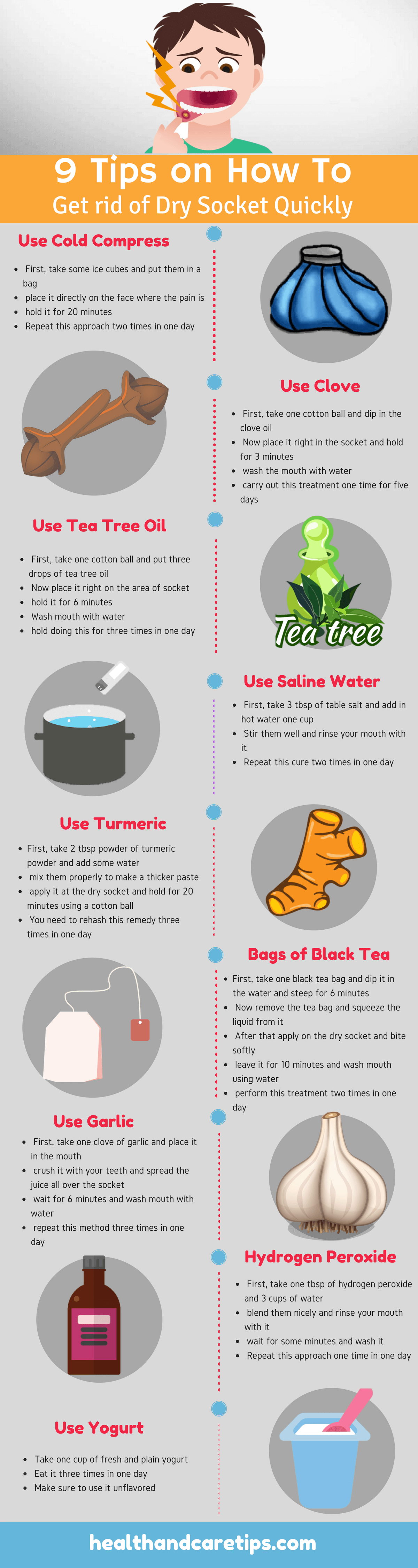9 Diy Home Remedies For Dry Socket To Treat It Quickly Top 9
