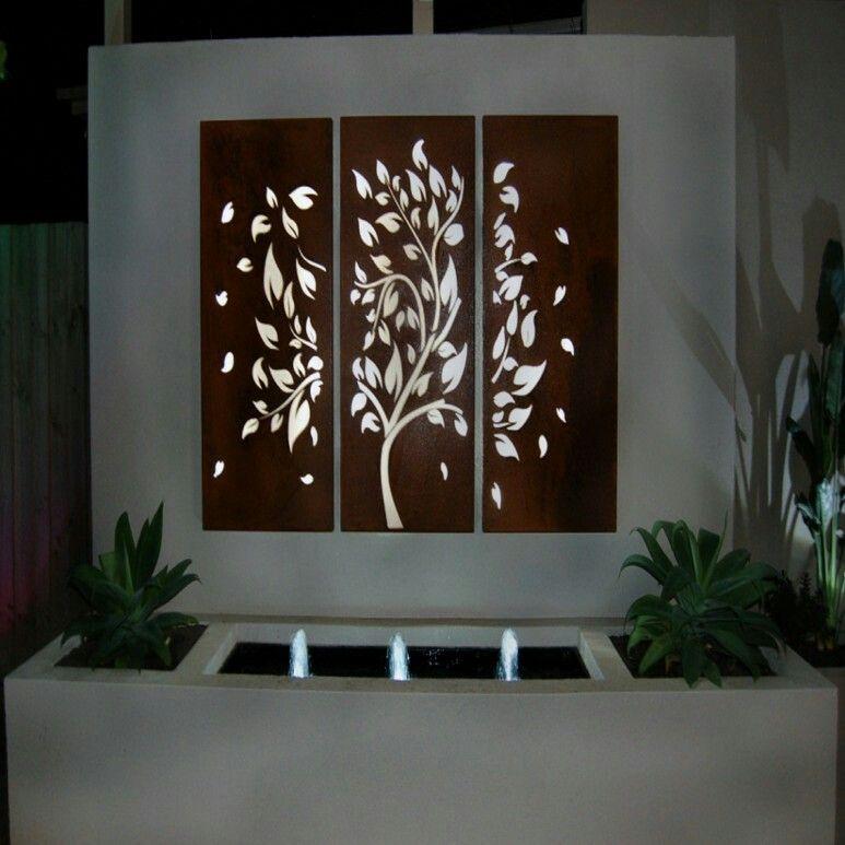 Http Houdes Com S 48 Garden Wall Art Ideas Outdoor Metal Wall Art Outdoor Wall Decor Metal Sun Wall Art