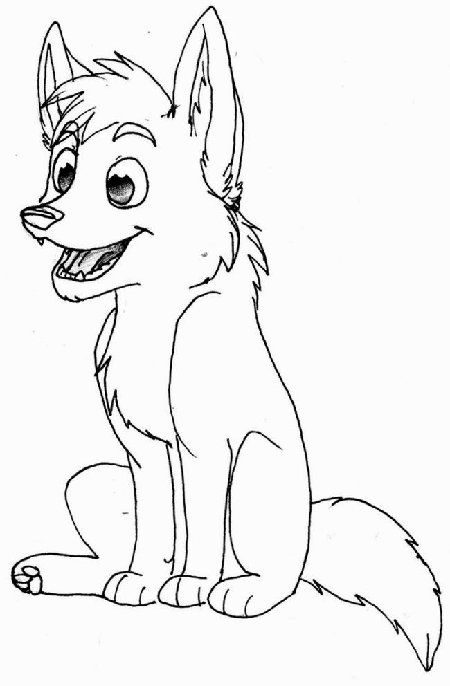 Wolf Pup Coloring Pages Wolf Colors Puppy Coloring Pages