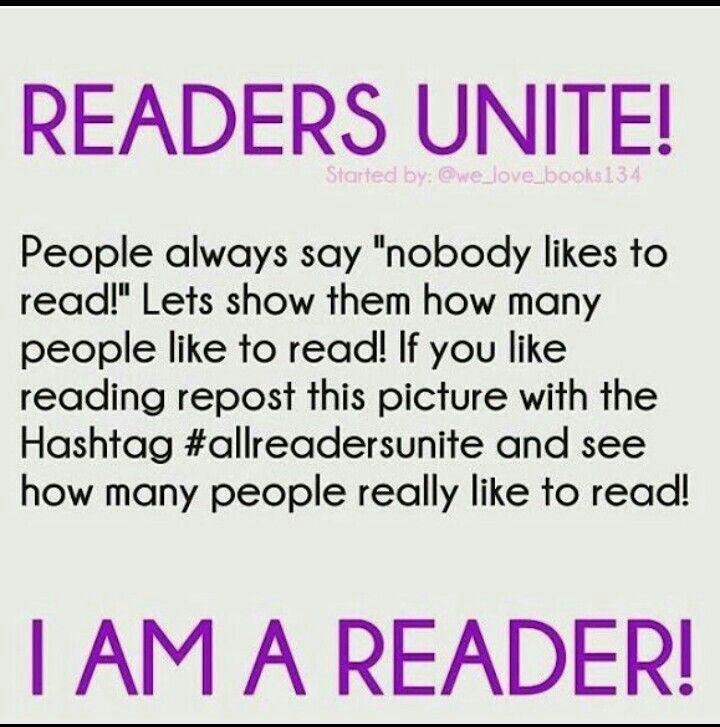 #allreadersunite | Books are life!! | Boeken, Lezen, Citaten
