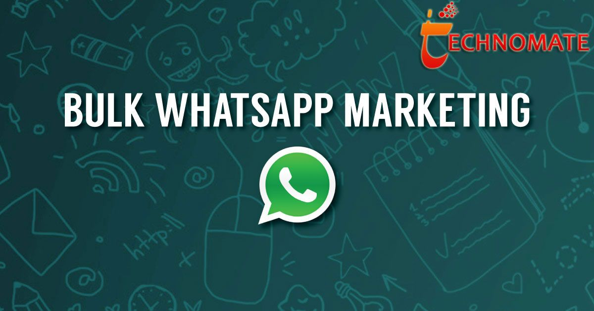 Technomate Mobi Offers Whatsapp Marketing In India At
