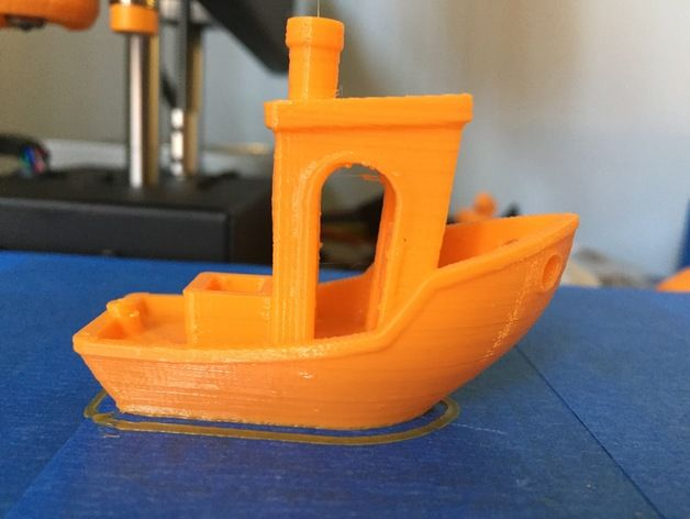 #3DBenchy - The jolly 3D printing torture-test by spuranik