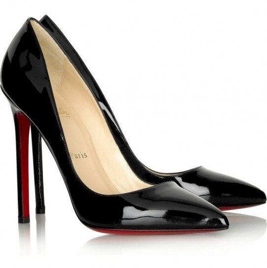 christian louboutin scarpe nere