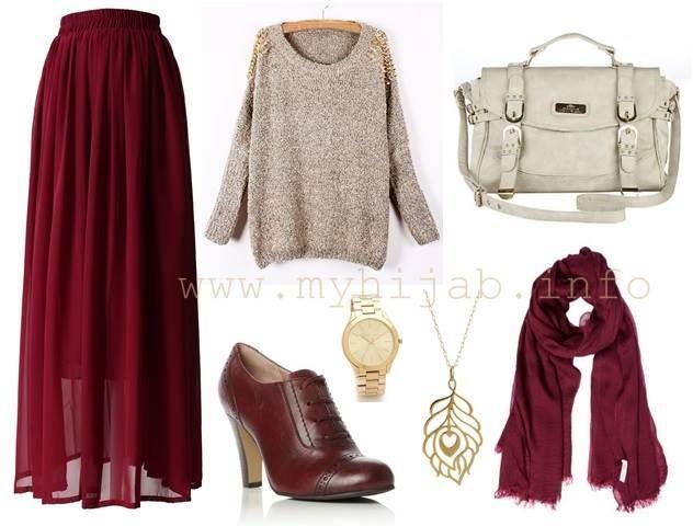 maxi skirts 2015 hijab - بحث Google
