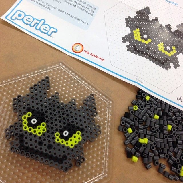 Did this one today at Michael's for kids club  | Perler and