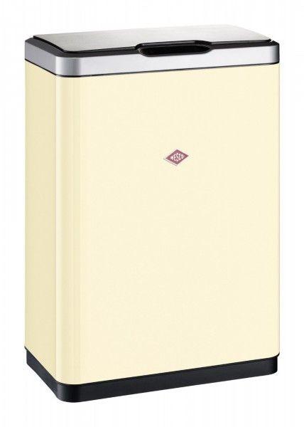 Mülleimer I-MASTER DOUBLE Metall beige WESCO 382411-23 (LBH - mülleimer für küche