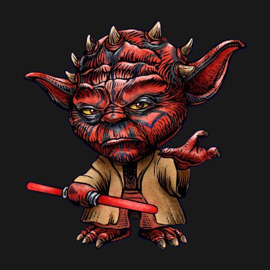 Yoda Character Design : Star wars darth yoda t shirt