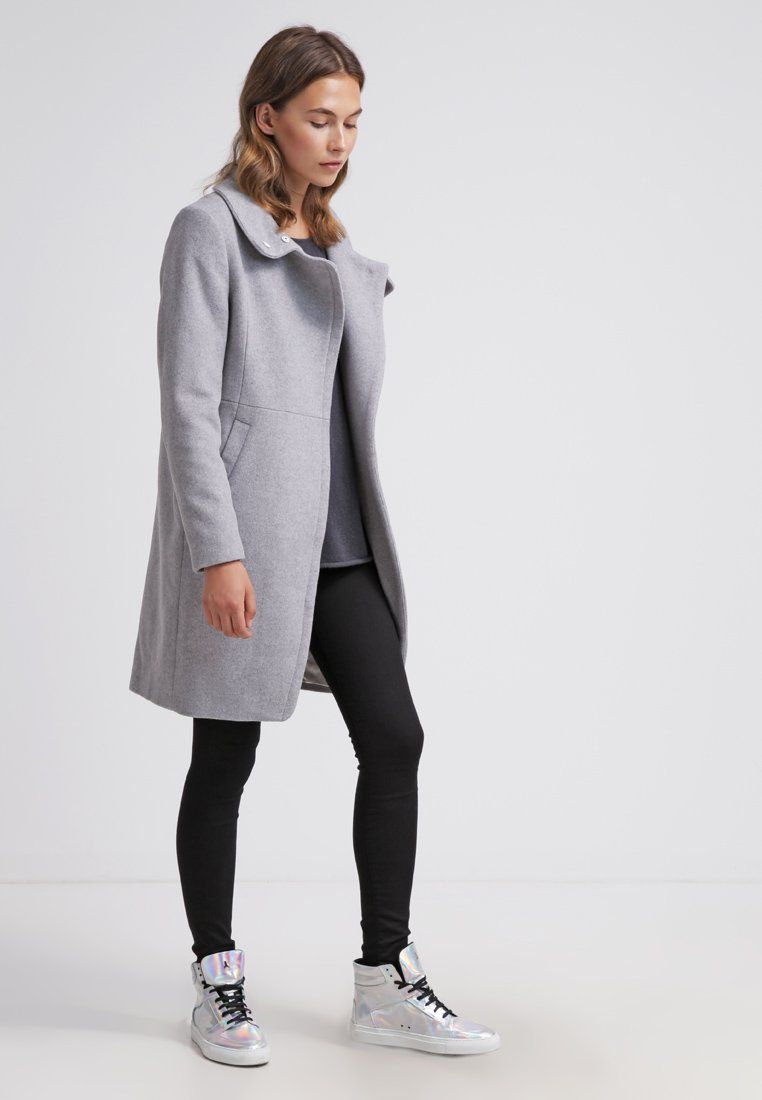 91284d3d Tiger of Sweden KELLI - Kåpe / Frakk - grey - Zalando.no | Outfit ...
