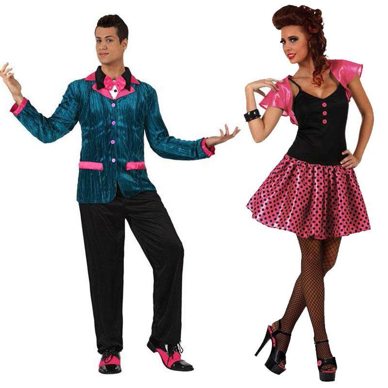 d guisements ann es 60 costumes pour couples pinterest costume ann e 60 deguisement et. Black Bedroom Furniture Sets. Home Design Ideas