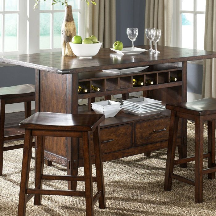 Pin By Patty Hurdle On En Mi Casa Dining Table In Kitchen Counter Height Dining Table Casual Dining Room Furniture
