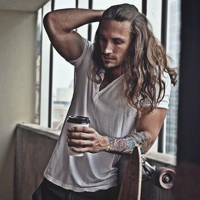 Resultado De Imagem Para Long Hair Men Bandana Dark Guys