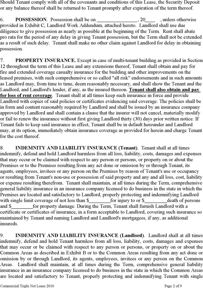 Kansas Triple Net Lease Agreement Form Download Free Printable Legal Rent And Lease Template Form In Different Editable Lease Agreement Being A Landlord Lease