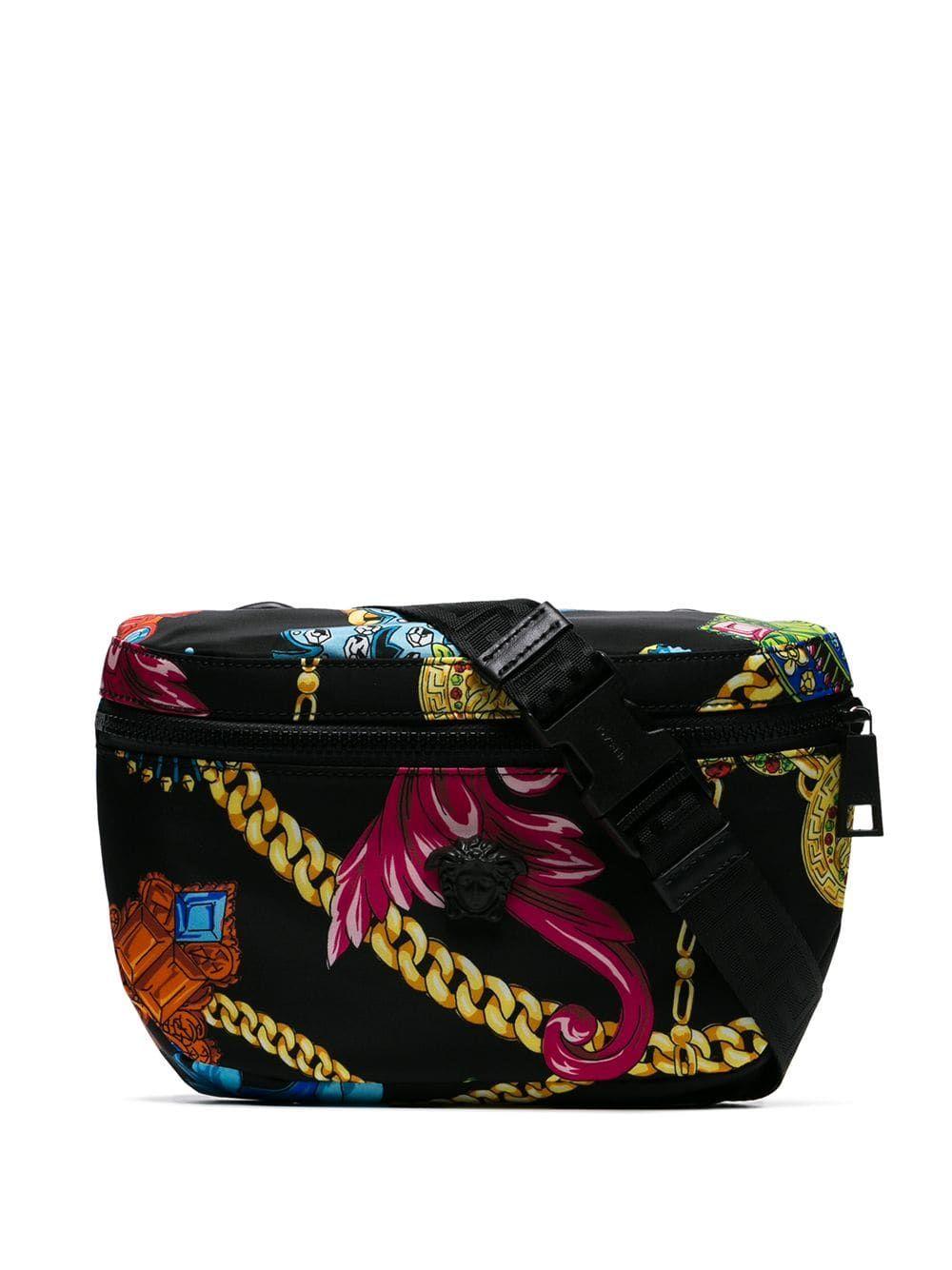 91fba2a63 VERSACE VERSACE JEWELLERY PRINT BELT BAG - MULTICOLOURED. #versace #bags  #belt bags