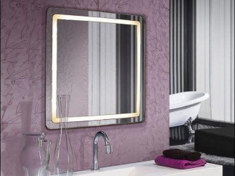 Espejos para ba os espejos de ba o con luz led espejo for Espejos decorativos con luz