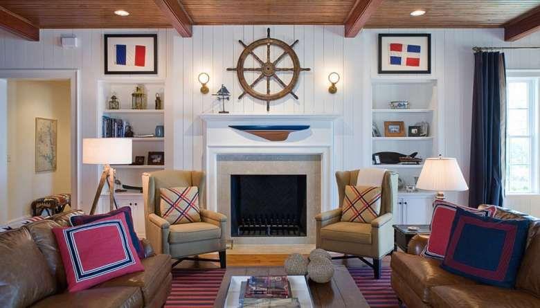 La Casa Navy Idee Arredamento Soggiorno Design Per Il Soggiorno Arredamento