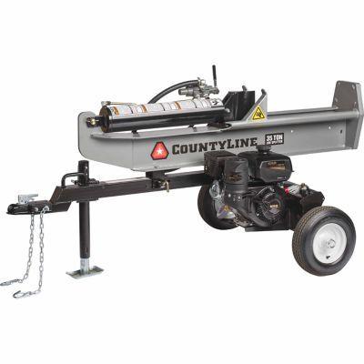 COUNTYLINE 35 TON LOG SPLITTER | Firewood | Log splitter, Tractor