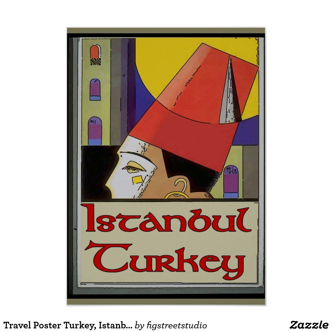 , Travel Poster Turkey, Istanbul, My Travels Blog 2020, My Travels Blog 2020
