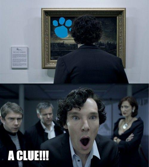 Sherlock is Steve!
