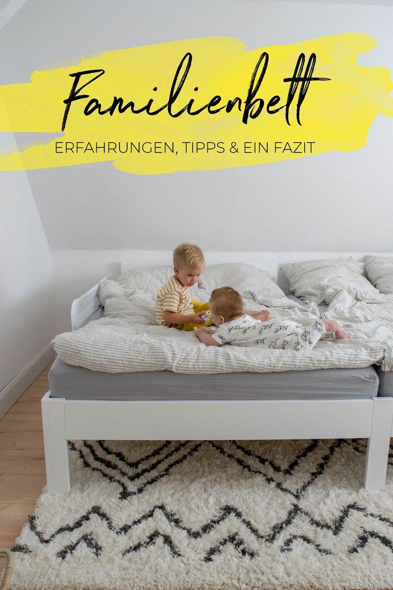 Mein Familienbett Unsere Geschichte Tipps Und Ein Fazit Familienbett Familien Bett Baby Zimmer Grau