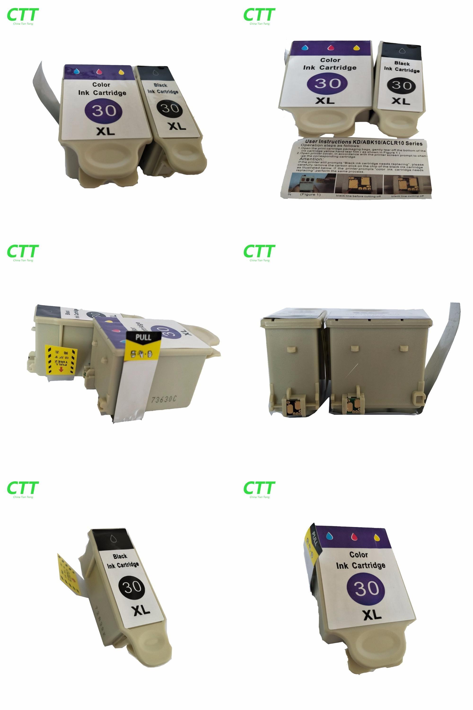 [Visit To Buy] 1 Set KD30 Compatible Ink Cartridge For ESP