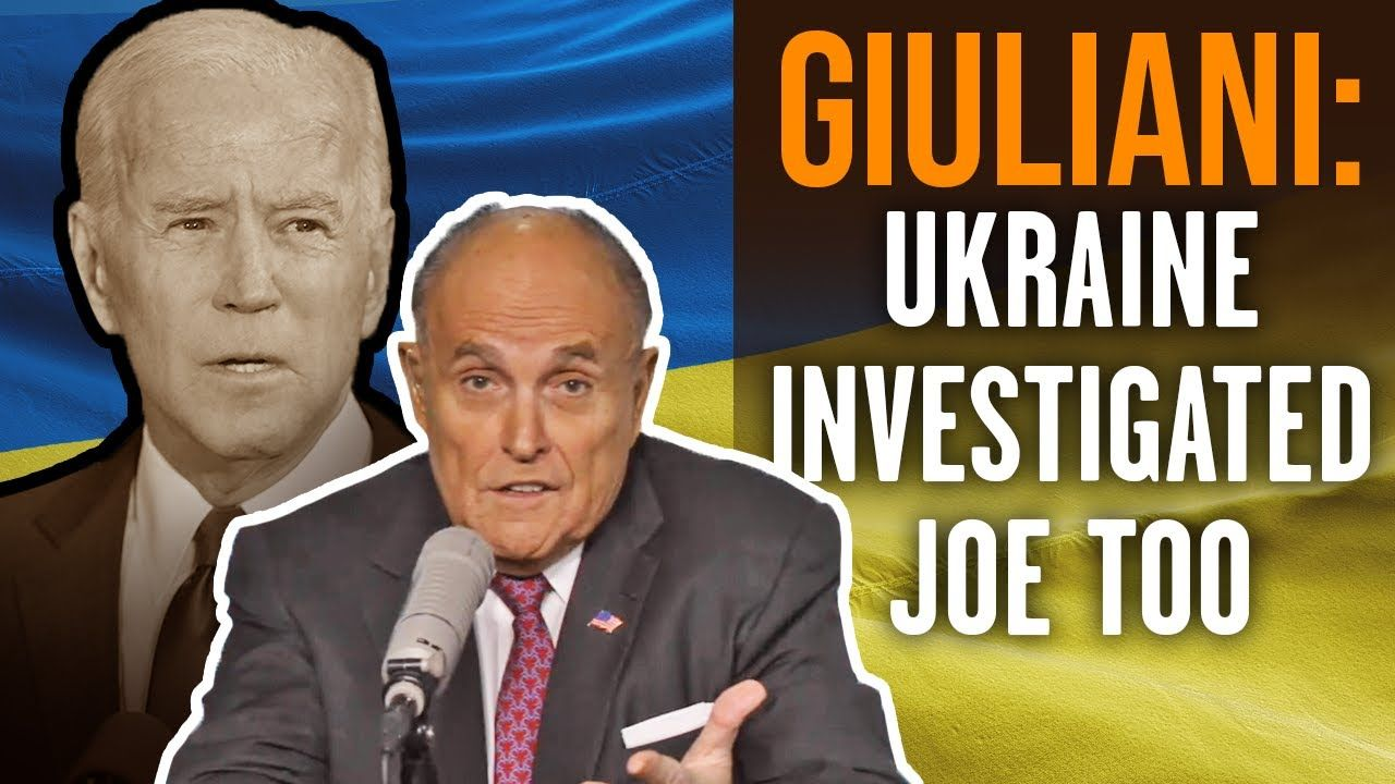 Rudy Giuliani Joe Hunter Biden Crime In Ukraine China Unpunished Beca In 2020 Rudy Giuliani