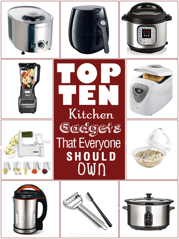 Top 10 Kitchen Gadgets That Everyone Should Own in 2020