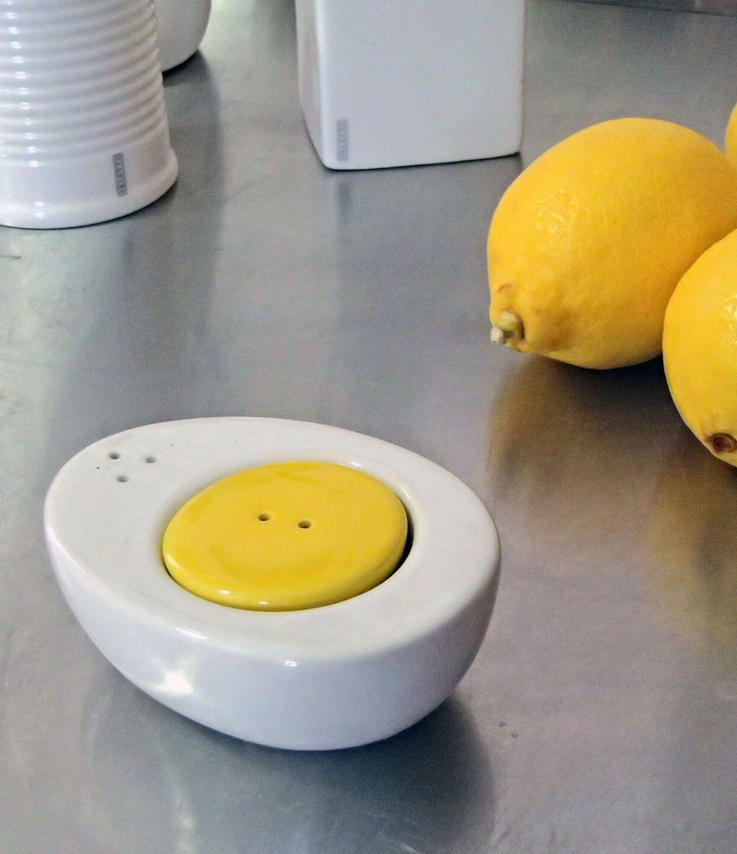 Egg salt and pepper shaker by TIGER