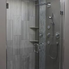 Bathroom Renovation Ideas Grey Compact European Shower And Laundry