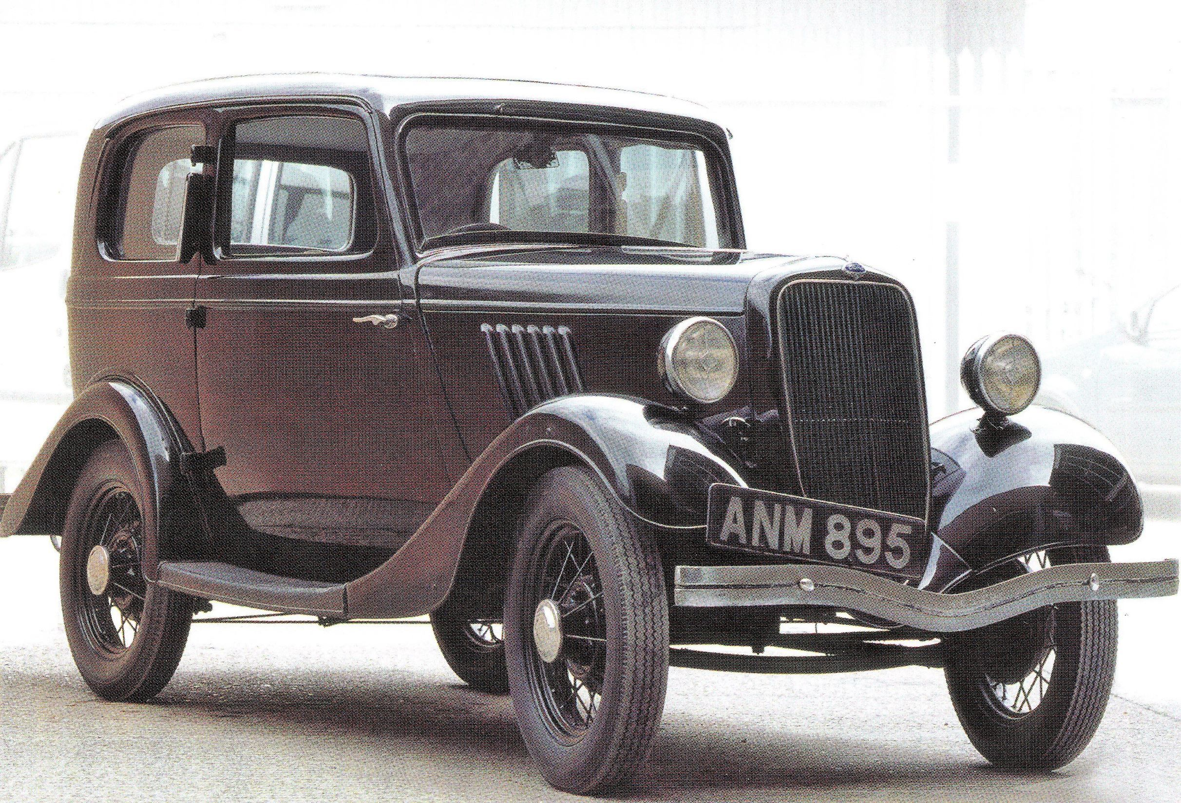 Dagenham Essex Ford Car Model Y Ford 8 1936 Car Model