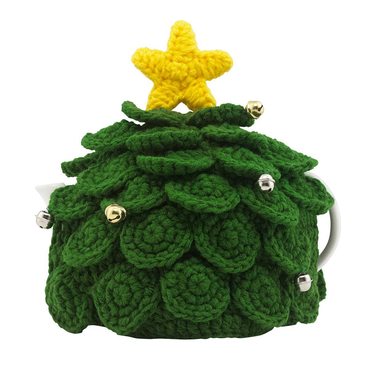 Crochet Christmas Tree Tea Cosy Christmas Decorations Cathkidston Christmas Crochet Patterns Crochet Tea Cozy Christmas Crochet